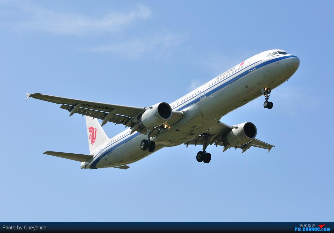 Re:[原创]晴空万里贺佳节,婵娟金凤舞双流! AIRBUS A321-200 B-6385 中国成都双流机场