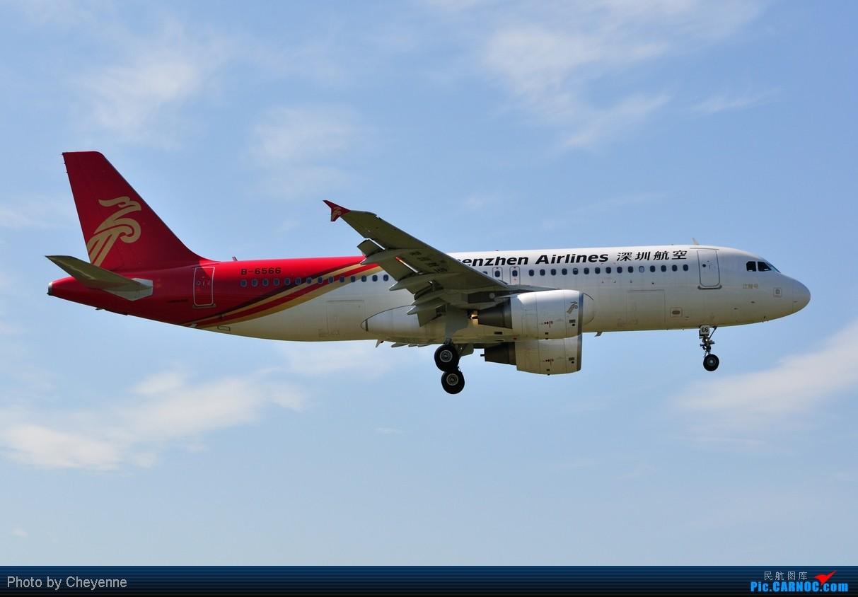 Re:[原创]晴空万里贺佳节,婵娟金凤舞双流! AIRBUS A320-214 B-6566 中国成都双流机场