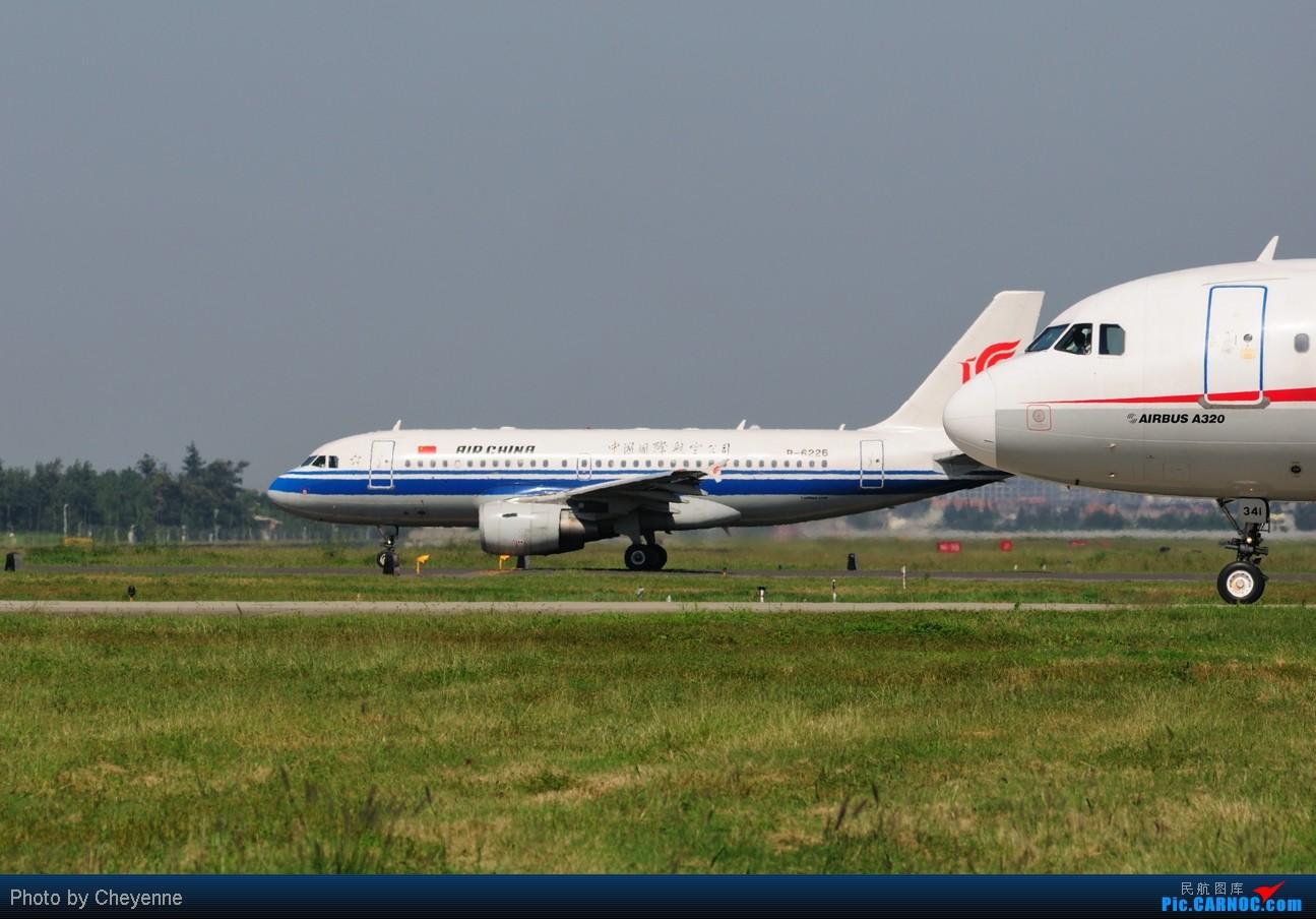 Re:[原创]晴空万里贺佳节,婵娟金凤舞双流! AIRBUS A319-100 B-6226 中国成都双流机场