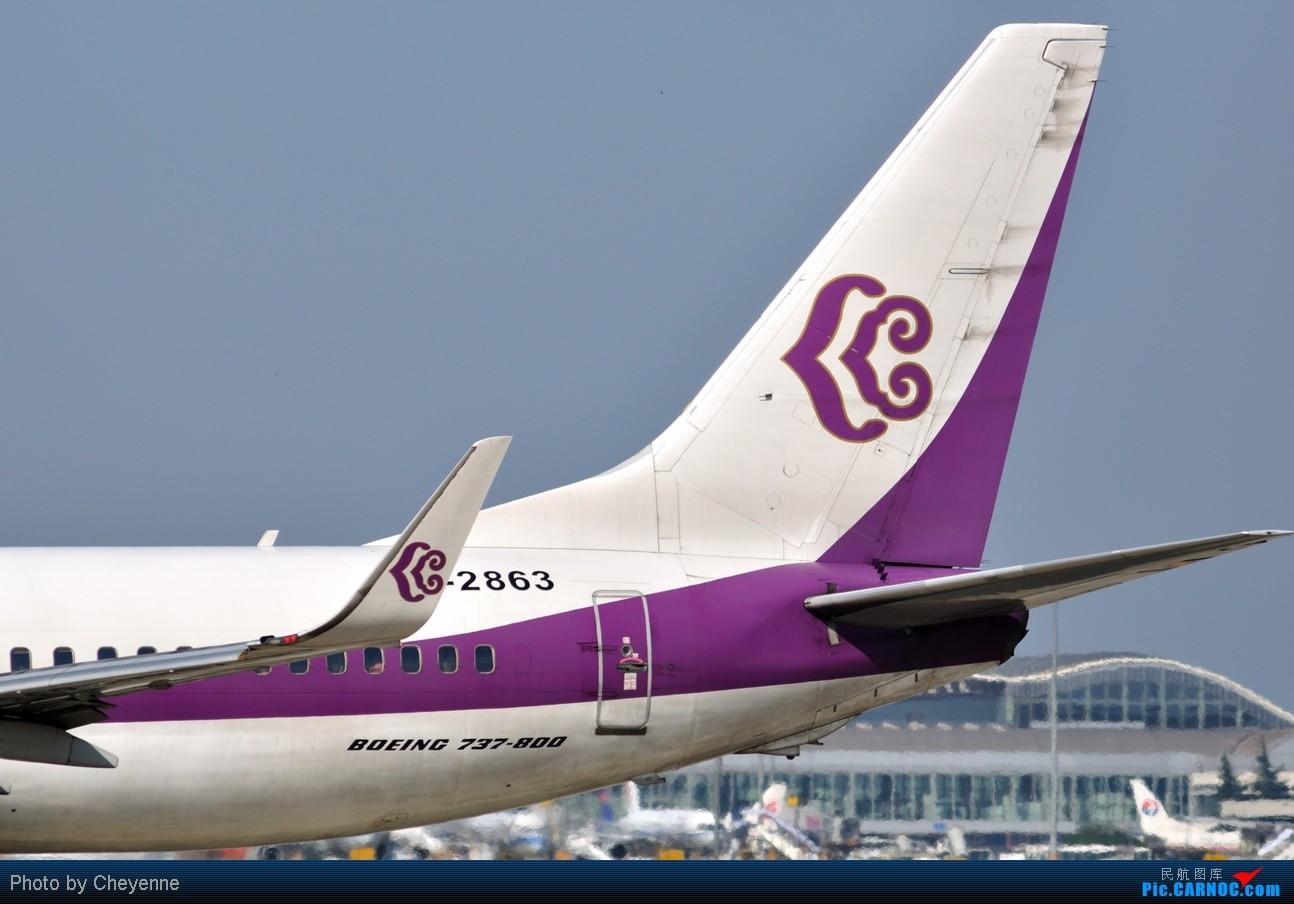 Re:[原创]晴空万里贺佳节,婵娟金凤舞双流! BOEING 737-800 B-2863 中国成都双流机场
