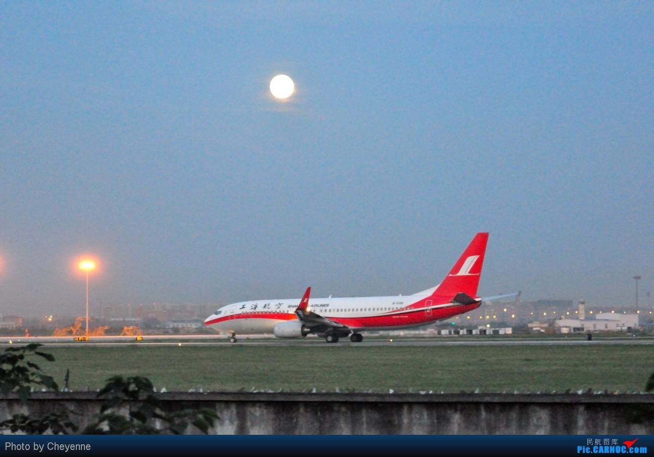 Re:[原创]晴空万里贺佳节,婵娟金凤舞双流! BOEING 737-800 B-5185 中国成都双流机场