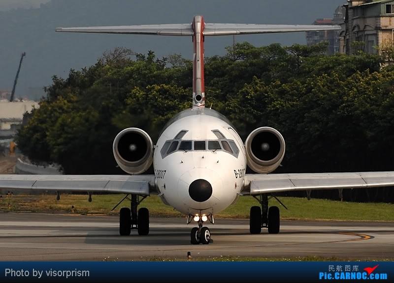 Re:[原创][台北飛友會]老照片~已經倒閉的 MCDONNELL DOUGLAS MD-83 B-28007 中国台北松山机场