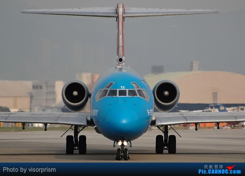 Re:[原创][台北飛友會]老照片~已經倒閉的 MCDONNELL DOUGLAS MD-82 B-28011 中国台北松山机场