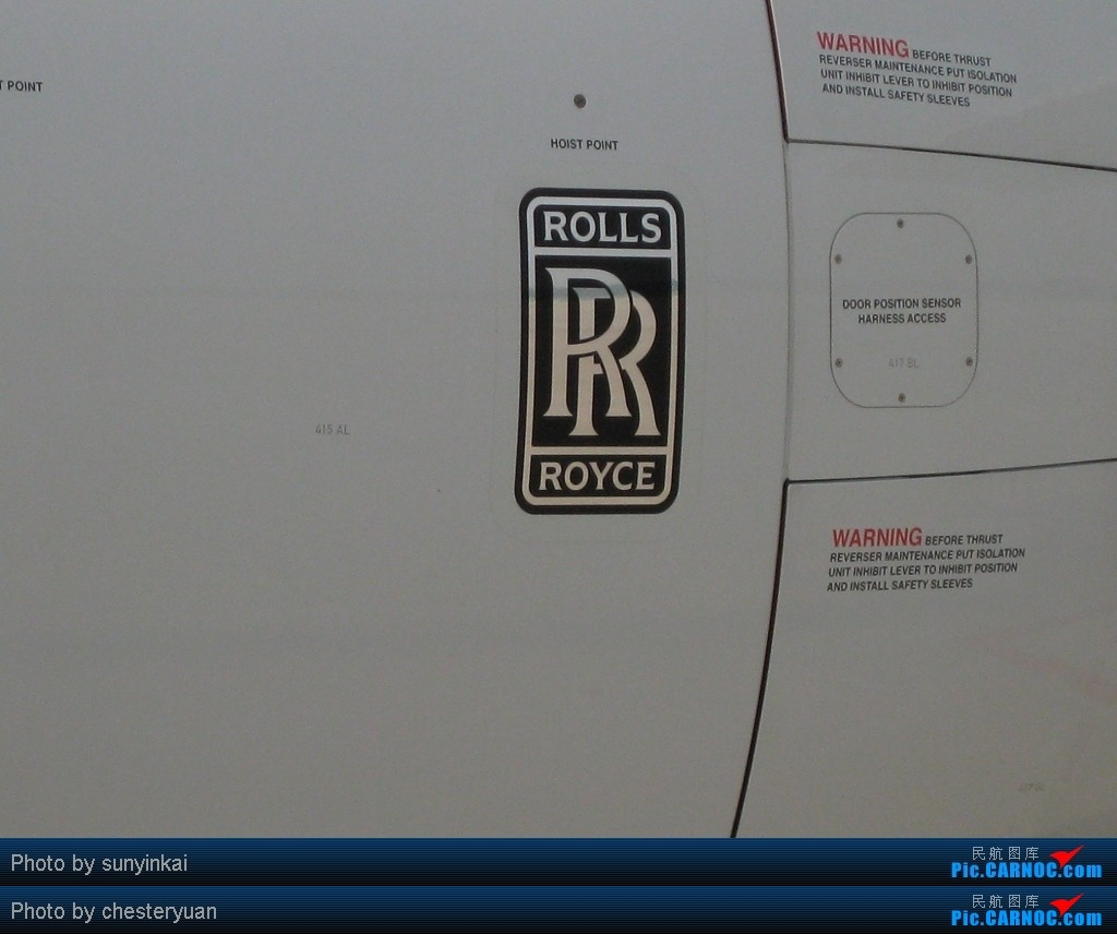 为什么飞机上面会有劳斯莱斯的标志 空客高清图片