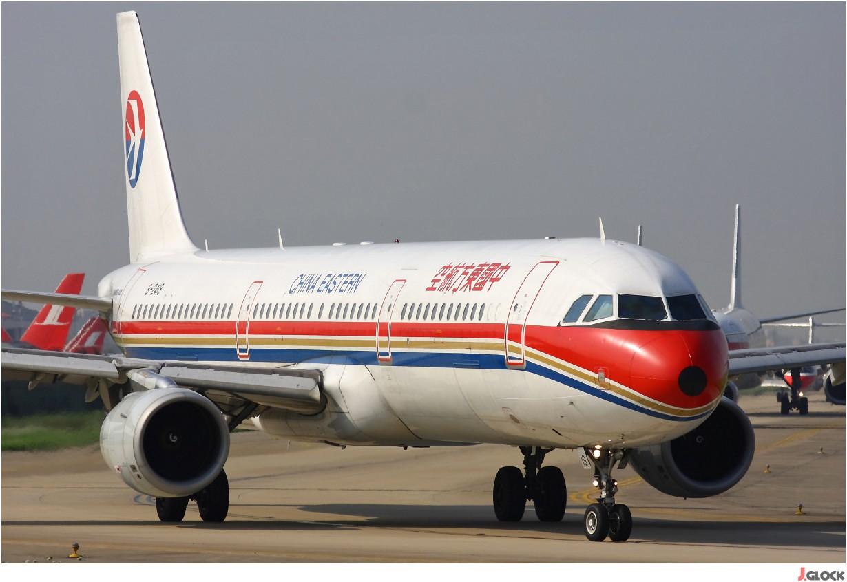 [原创]【 ♠ J 】 500米的距离打飞机会让人沉迷~ 那么 30米的距离打飞机就是享受无限的快感!! AIRBUS A321-211 B-2419 中国上海虹桥机场