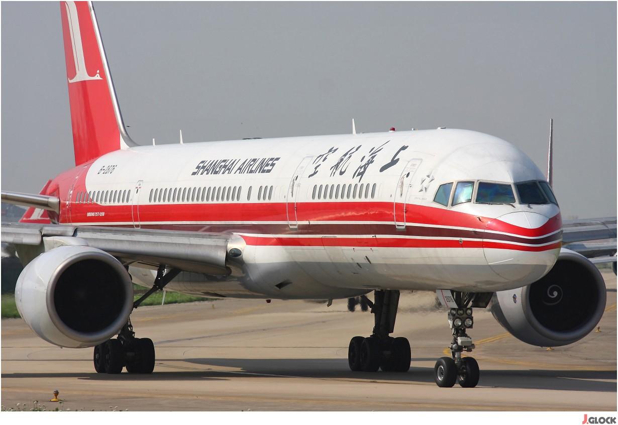 Re:[原创]【 ♠ J 】 【SHA】 藏了 120天的照片  回味虹桥18头带来的震撼距离 !! BOEING 757-26D B-2876 中国上海虹桥机场