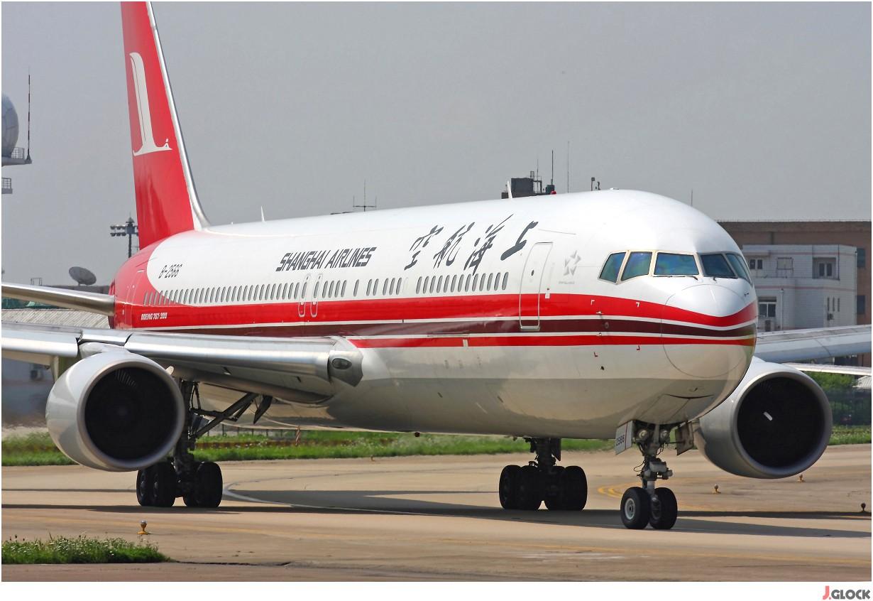 Re:【 ♠ J 】 500米的距离打飞机会让人沉迷~ 那么 30米的距离打飞机就是享受无限的快感!! BOEING 767-300 B-2566 中国上海虹桥机场
