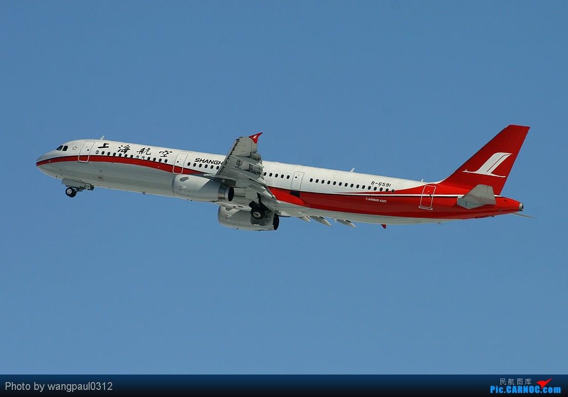 Re:[原创]须晴日,看首都机场红装素裹,分外妖娆,引无数英雄竞折腰。 AIRBUS A321-200 B-6591 中国北京首都机场
