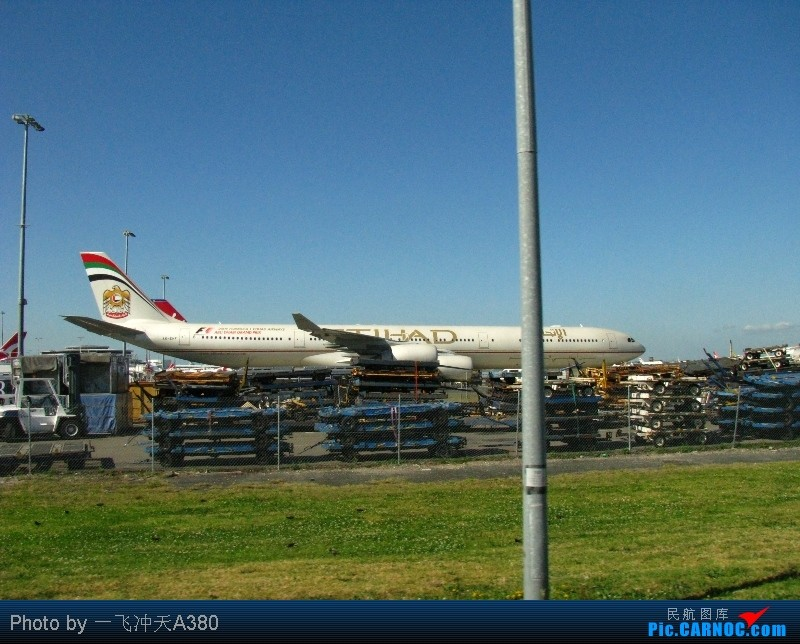 Re:澳航与阿根廷LAN航『印象天涯』前往世界的尽头▪乌斯怀亚 AIRBUS A340-642X A6-EHF Australia SYDNEY KINGSFORD