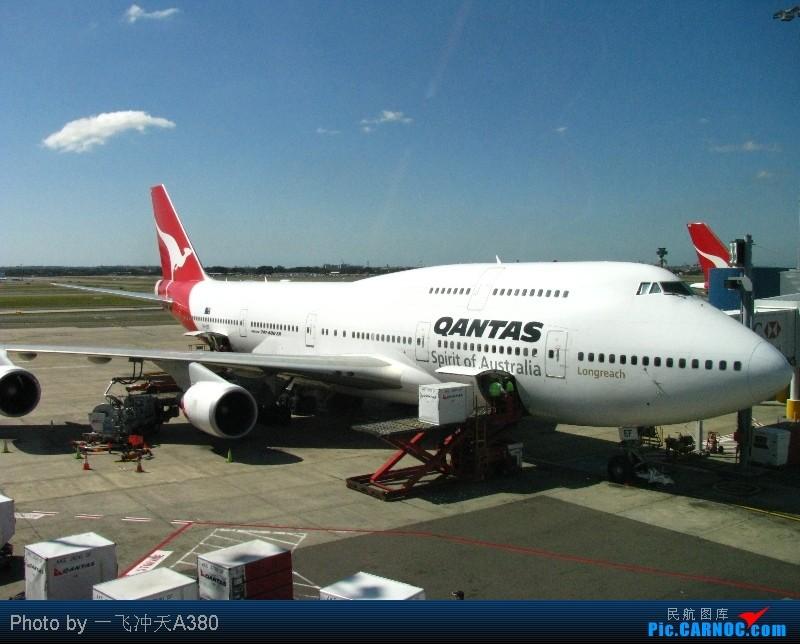 Re:[原创]澳航与阿根廷LAN航『印象天涯』前往世界的尽头▪乌斯怀亚 BOEING 747-438ER VH-OEF Australia SYDNEY KINGSFORD