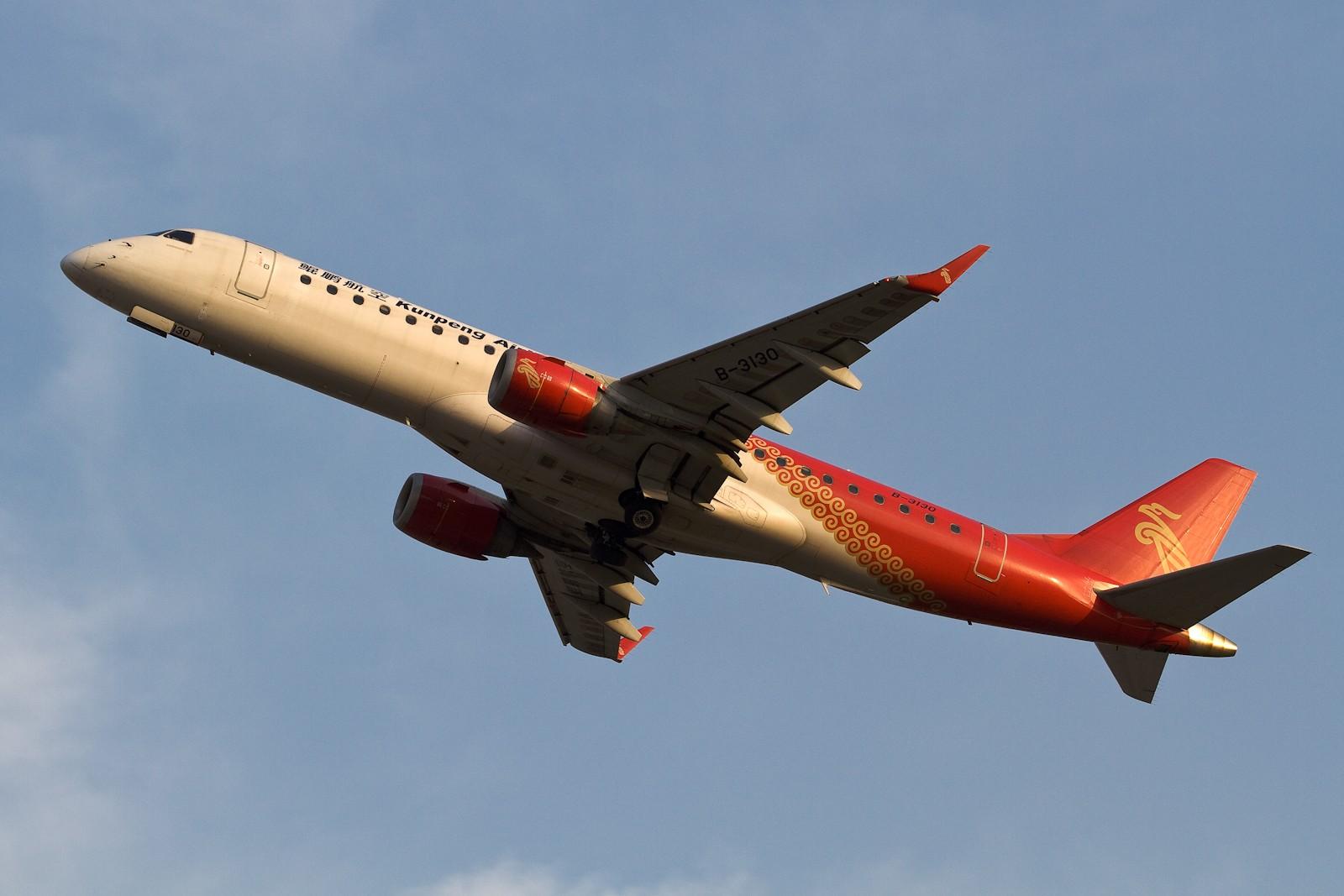 Re:[CASG]艳双飞 EMBRAER ERJ-190 B-3130 中国广州白云机场