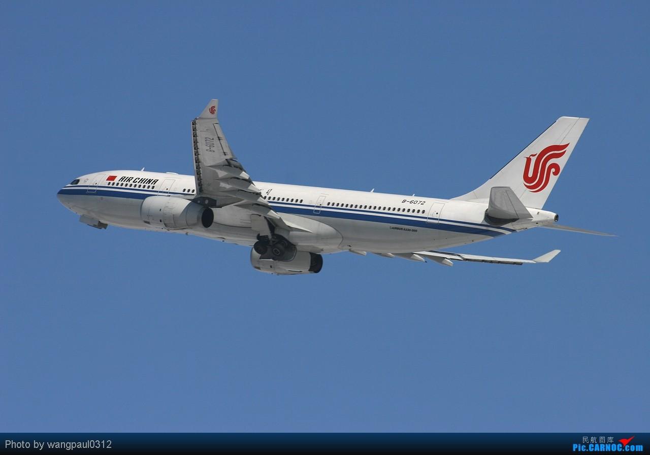 Re:[原创]当时那架飞机离我的相机只有0.1公里时发现相机没装存储卡,但是四分之一炷香之后,这架飞机被我彻底的拍了下了,因为我做了一个惊人的举动 AIRBUS A330-200 B-6072 中国北京首都机场  机务