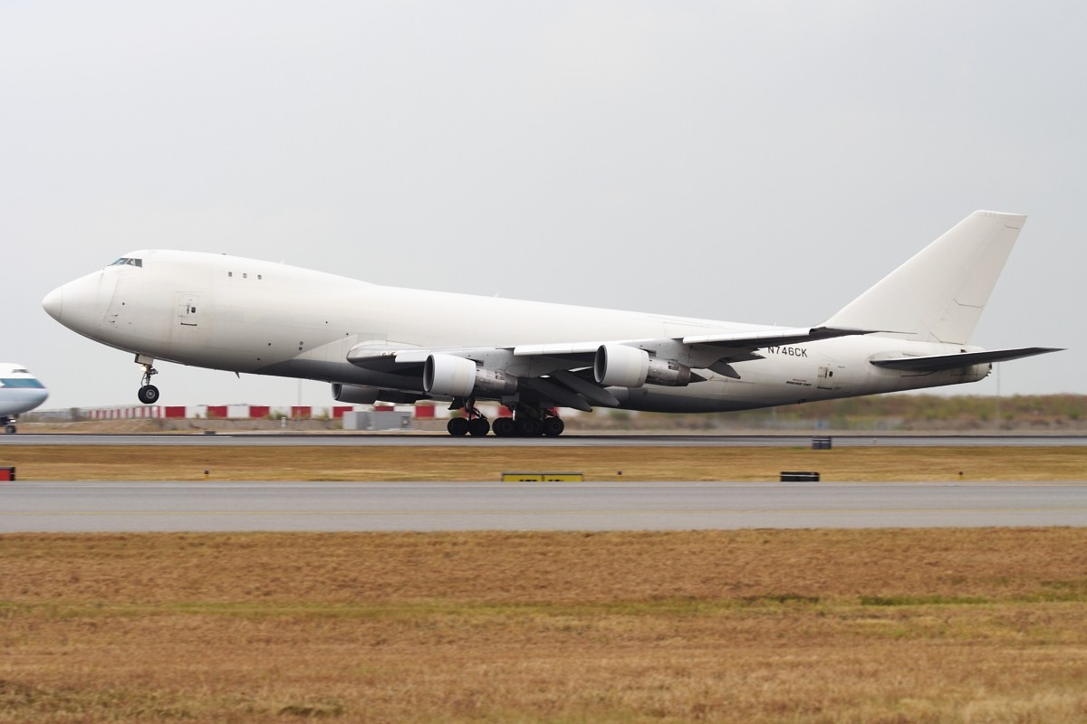 Re:[原创]香港政府飛行服務隊的開放日, 顯然我沒有理會到主人家 BOEING 747-246F/SCD N746CK 中国香港赤鱲角国际机场