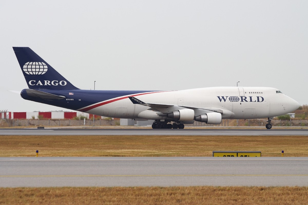 Re:[原创]香港政府飛行服務隊的開放日, 顯然我沒有理會到主人家 BOEING 747-4H6SF N741WA 中国香港赤鱲角国际机场