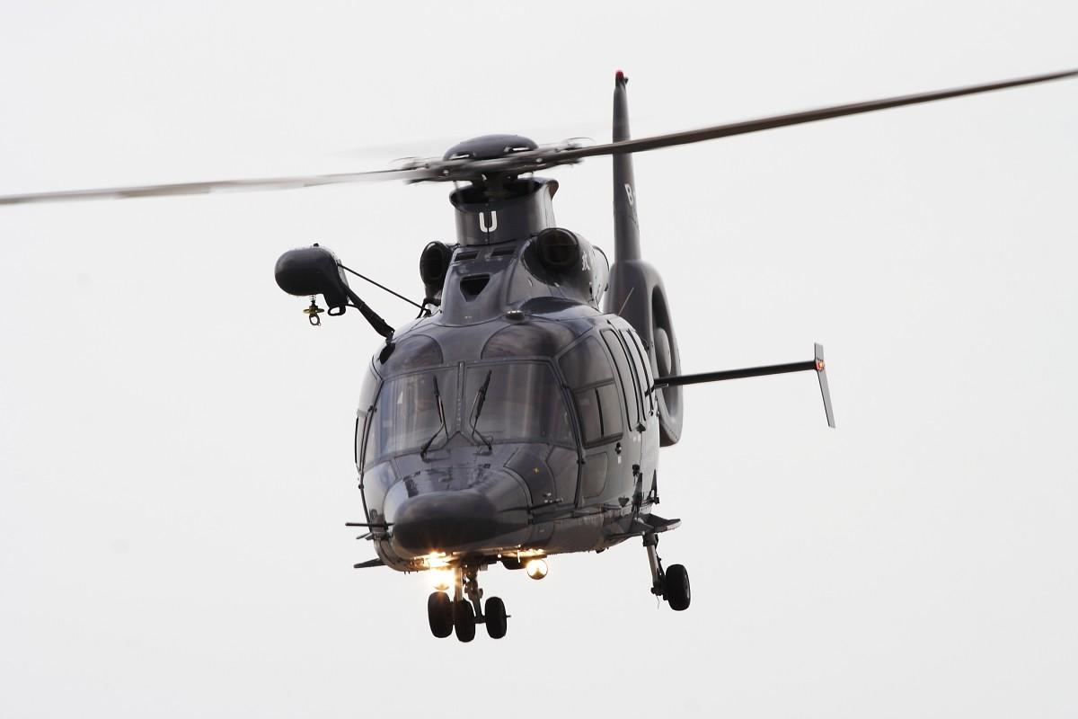Re:[原创]香港政府飛行服務隊的開放日, 顯然我沒有理會到主人家 EUROCOPTER EC 155 B1 B-HRU 中国香港赤鱲角国际机场