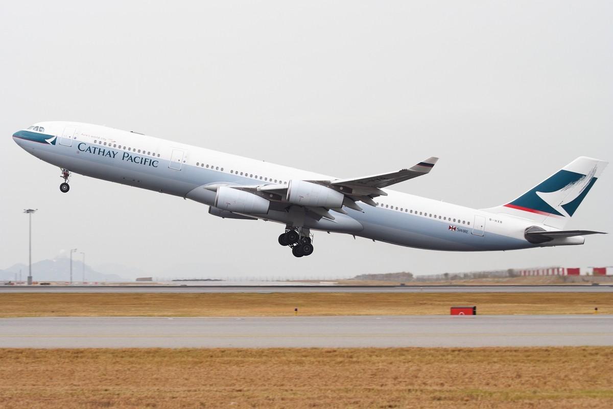 Re:[原创]香港政府飛行服務隊的開放日, 顯然我沒有理會到主人家 AIRBUS A340-313X B-HXB 中国香港赤鱲角国际机场