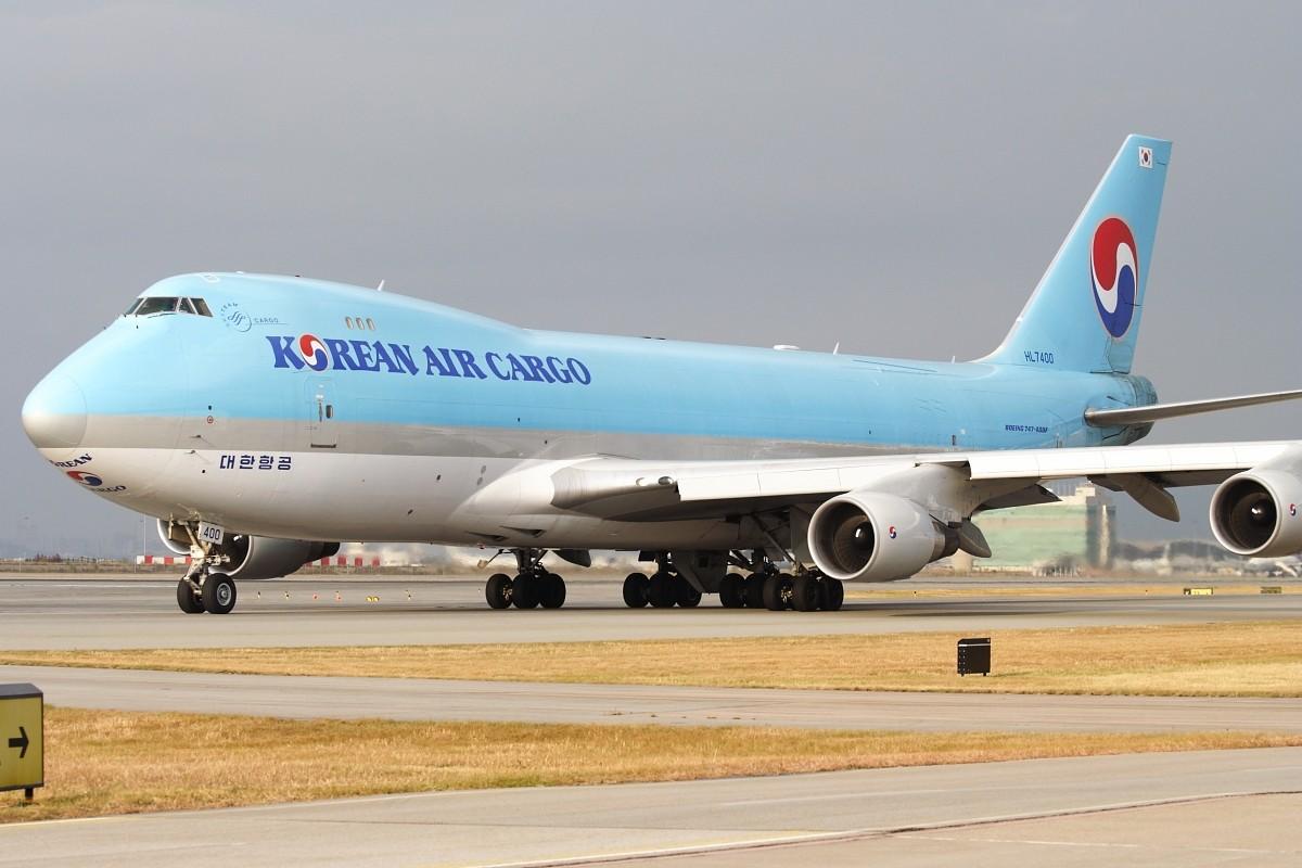 Re:[原创]香港政府飛行服務隊的開放日, 顯然我沒有理會到主人家 BOEING 747-4B5F/SCD HL7400 中国香港赤鱲角国际机场