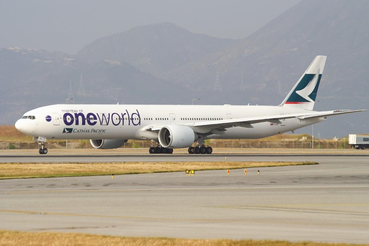 Re:[原创]香港政府飛行服務隊的開放日, 顯然我沒有理會到主人家 BOEING 777-367ER B-KPL 中国香港赤鱲角国际机场
