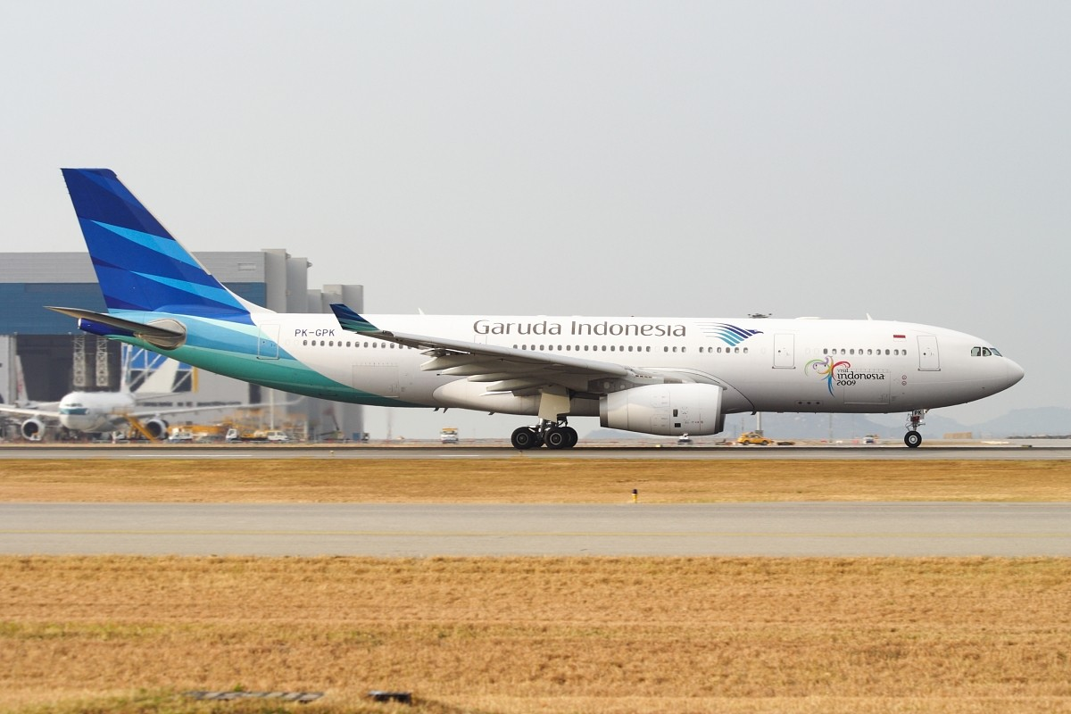 Re:[原创]香港政府飛行服務隊的開放日, 顯然我沒有理會到主人家 AIRBUS A330-243 PK-GPK 中国香港赤鱲角国际机场