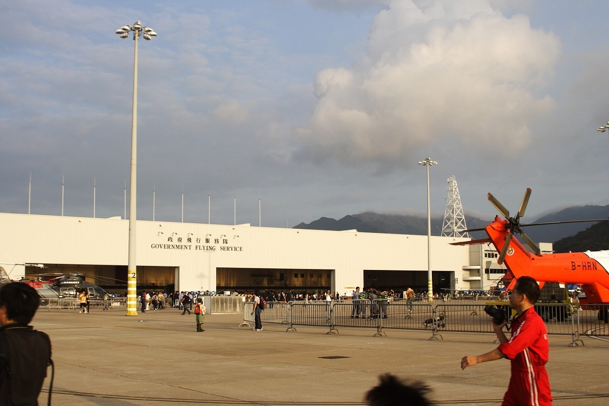 Re:[原创]香港政府飛行服務隊的開放日, 顯然我沒有理會到主人家 AIRBUS A330-343X B-HLU 中国香港赤鱲角国际机场 中国香港赤鱲角国际机场