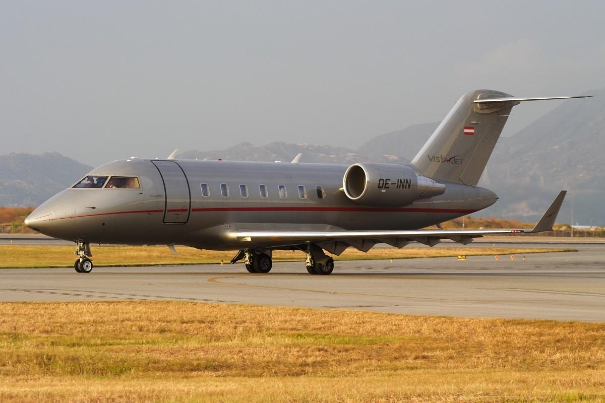 Re:[原创]香港政府飛行服務隊的開放日, 顯然我沒有理會到主人家 BOMBARDIER CL-600-2B16 CHALLENGER 605 OE-INN 中国香港赤鱲角国际机场