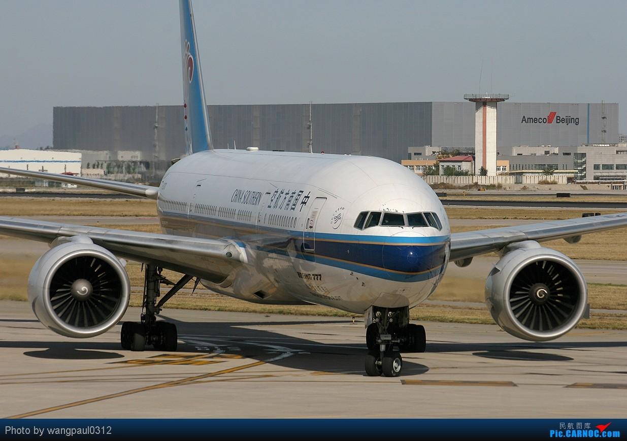 [原创]首都机场T2航站楼的老大!(回帖一律送飞机啦!) BOEING 777-200ER B-2062 中国北京首都机场