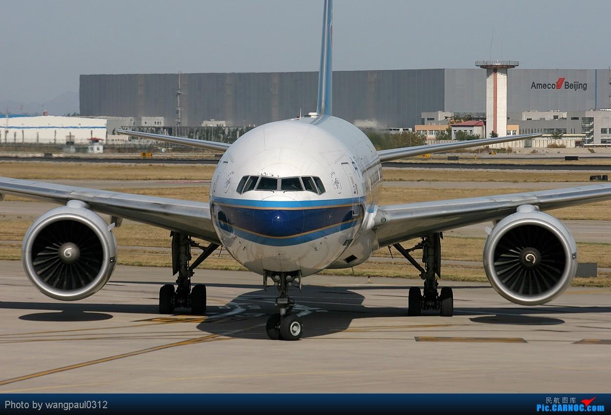 Re:[原创]首都机场T2航站楼的老大!(回帖一律送飞机啦!) BOEING 777-200ER B-2062 中国北京首都机场