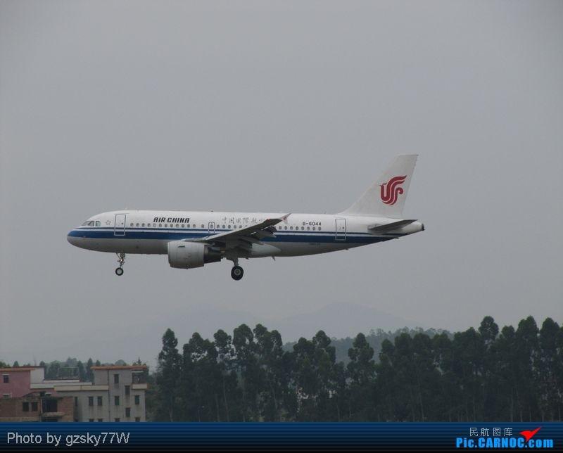 Re:[原创][深圳飞友会]不算好也不算坏! AIRBUS A319-100 B-6044 中国广州白云机场  CARNOC网友