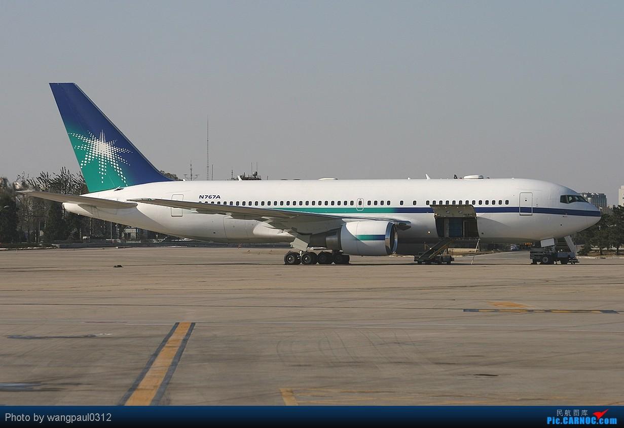 [转贴]有枣没枣打一杆子! BOEING 767-2AX/ER N767A 北京首都国际机场