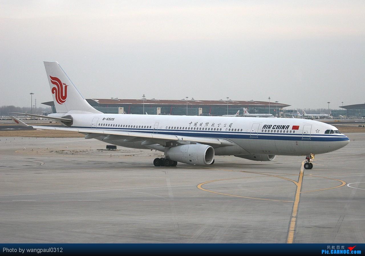 Re:[转贴]有枣没枣打一杆子! AIRBUS A330-243 B-6505 中国北京首都机场
