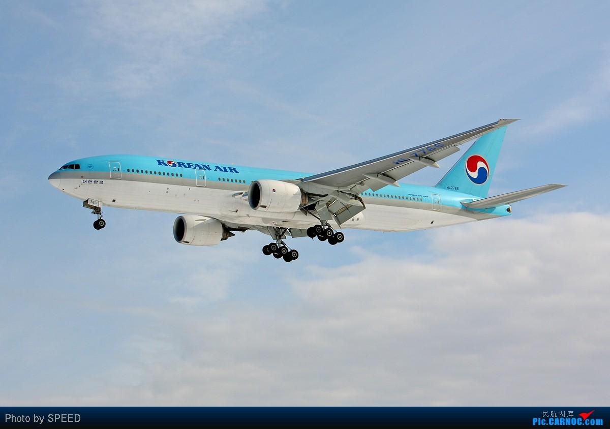 [原创]一韩,一俄,各一张 BOEING 777-200 HL7766 中国北京首都机场