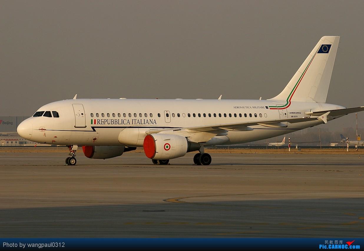 [原创]MM号的意大利空JUN小可爱 AIRBUS A319-100CJ MM-62174 北京首都国际机场