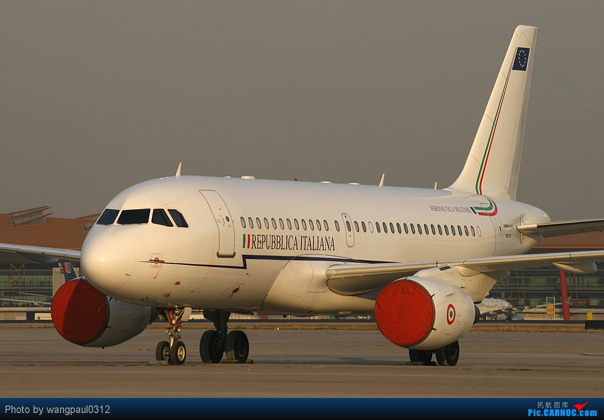 Re:[原创]MM号的意大利空JUN小可爱 AIRBUS A319-100CJ MM-62174 北京首都国际机场