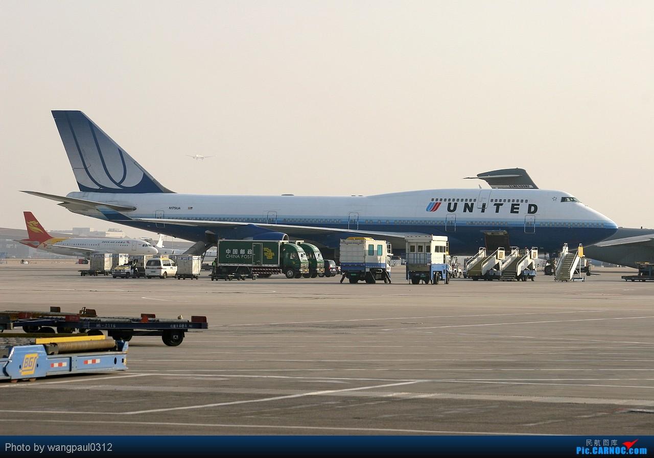 Re:[原创]MM号的意大利空JUN小可爱 BOEING 747-422 N179UA 北京首都国际机场