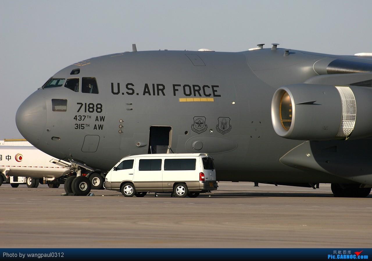 Re:[原创]有信心不一定会成功,没信心一定不会成功! BOEING C-17A GLOBEMASTER III 07-7188 北京首都国际机场