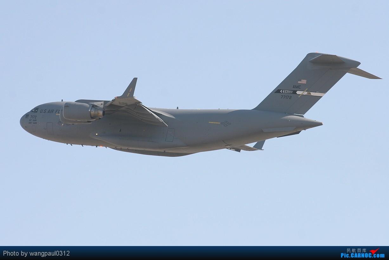 Re:[原创]有信心不一定会成功,没信心一定不会成功! BOEING C-17A GLOBEMASTER III 07-7172 北京首都国际机场