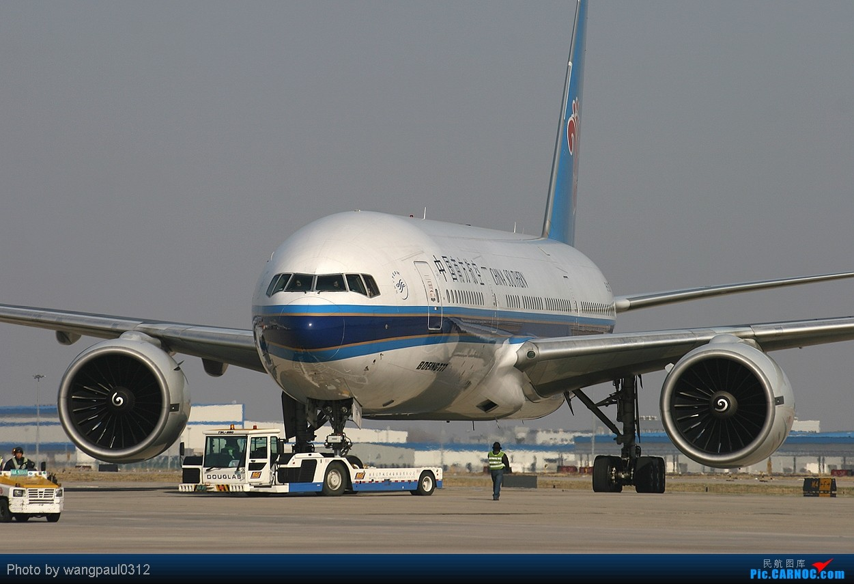 [原创]做人如果没有梦想,那跟咸鱼有什么区别? BOEING 777-200 B-2051 中国北京首都机场