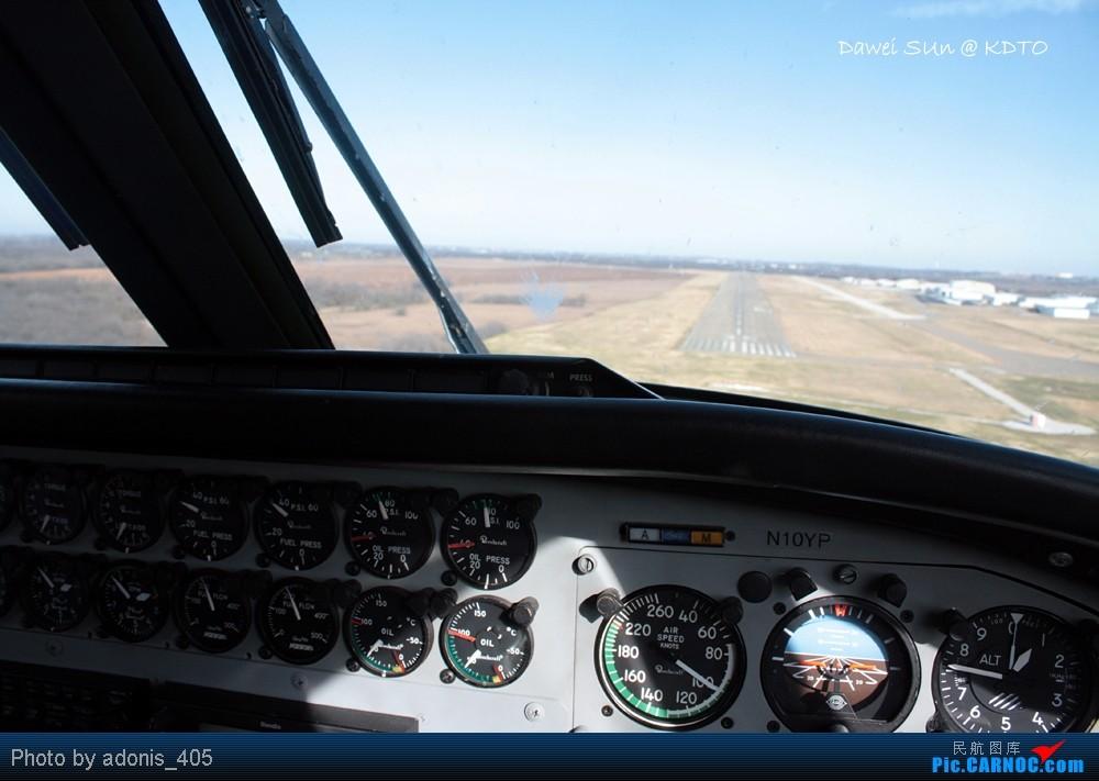 Re:[原创]Denton机场五边图 这个机场数据库里代号是什么? BEECH 90 KING AIR N10YP Denton Municipal Airport