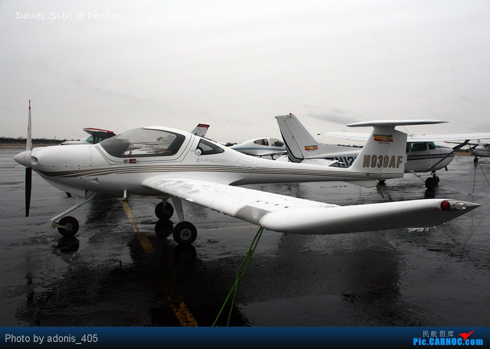 Re:[原创]Denton机场五边图 这个机场数据库里代号是什么? DIAMOND AIRCRAFT IND INC DA 20-C1 N939AF Denton Muni Airport