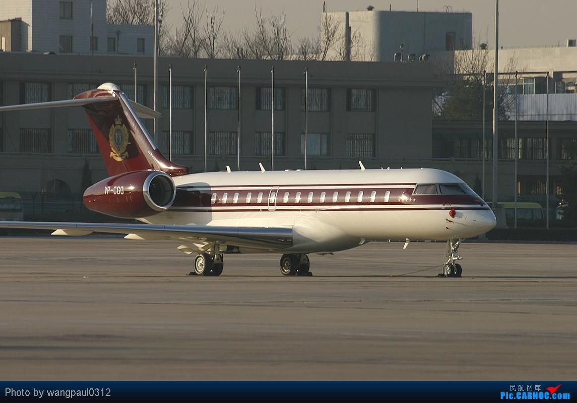 Re:[原创]时隔5年加拿大总理访华,只是来了个黑不拉几的310 BOMBARDIER BD-700-1A10 GLOBAL EXPRESS VP-CGO 北京首都国际机场