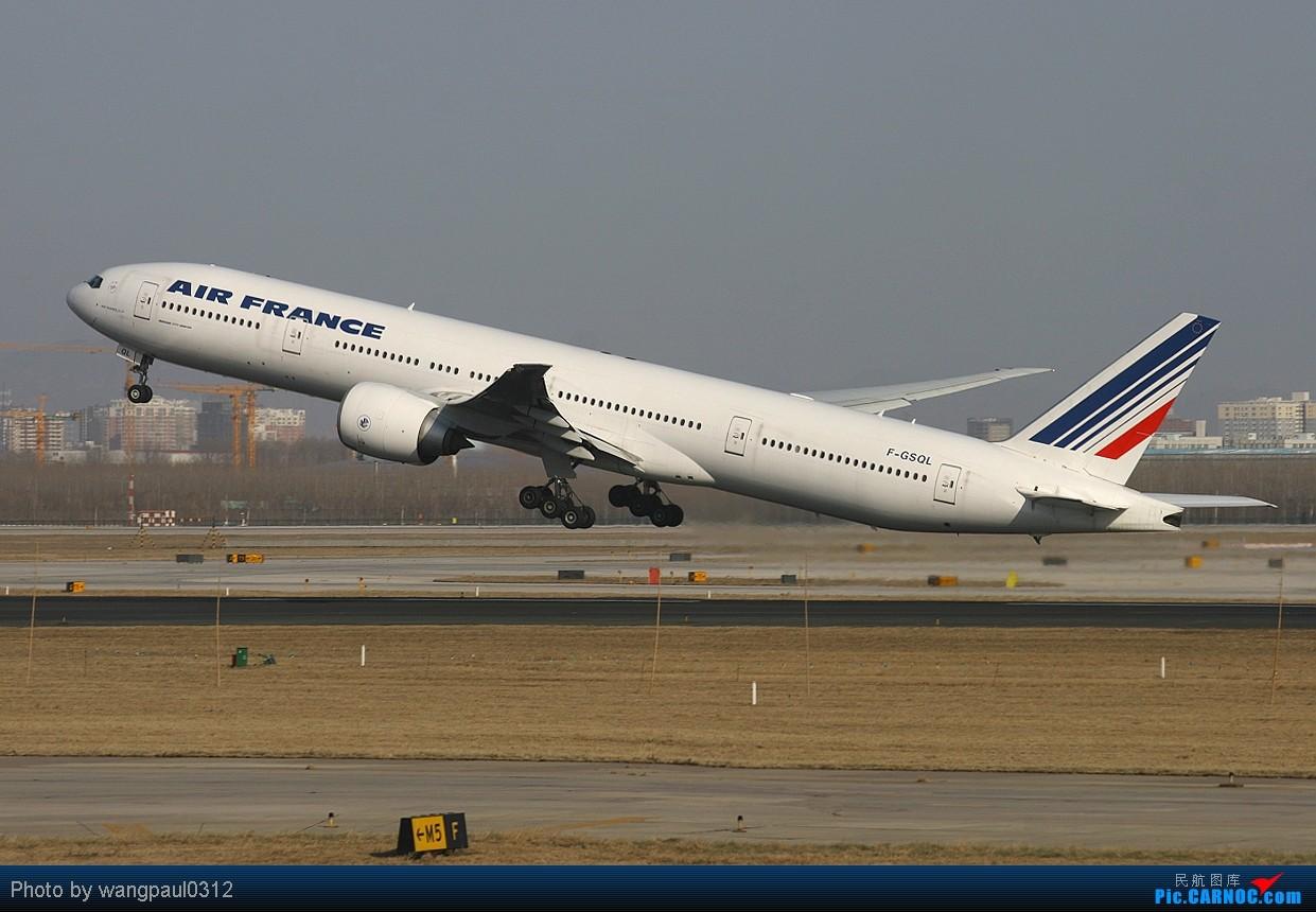 Re:[原创]这就是北京! BOEING 777-328/ER F-GSQL 北京首都国际机场