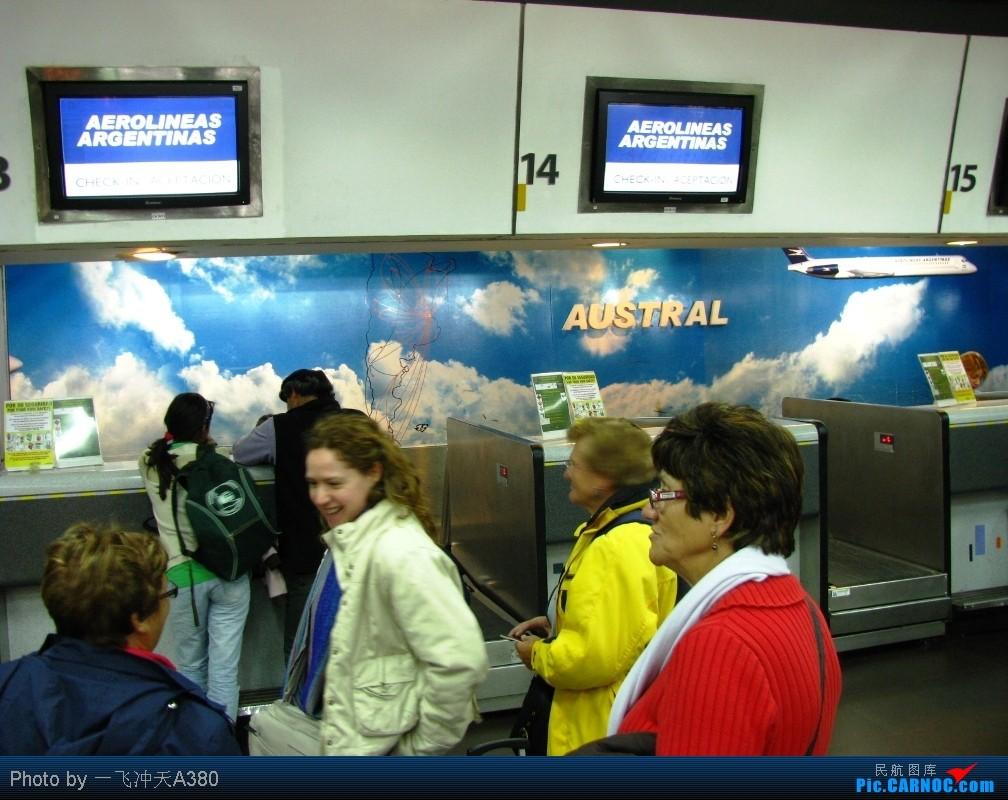 [原创]【 澳航 B747 | 寰球壹周-飞越南极-海角天涯 | 卡航 B777 】    阿根廷布宜诺斯艾利斯霍尔赫纽贝里机场