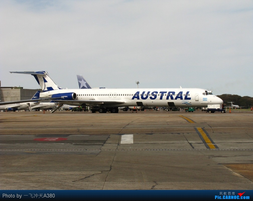 Re: [原创]【 澳航 B747 | 天涯海角走两遍 | 卡航 B777 】 MD-88 LV-BOH 阿根廷布宜诺斯艾利斯霍尔赫纽贝里机场