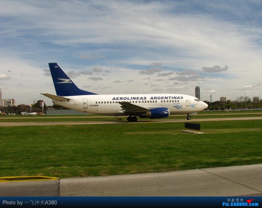 Re: [原创]【 澳航 B747 | 天涯海角走两遍 | 卡航 B777 】 B737-5H6 LV-BAR 阿根廷布宜诺斯艾利斯霍尔赫纽贝里机场