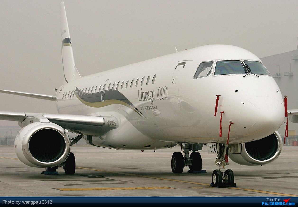 [原创]巴西航空工业公司世袭1000型ERJ-190莅临首都机场(THKS FR 威猛 MSG) EMBRAER ERJ-190BJ LINEAGE 1000 PP-XTE 北京首都国际机场