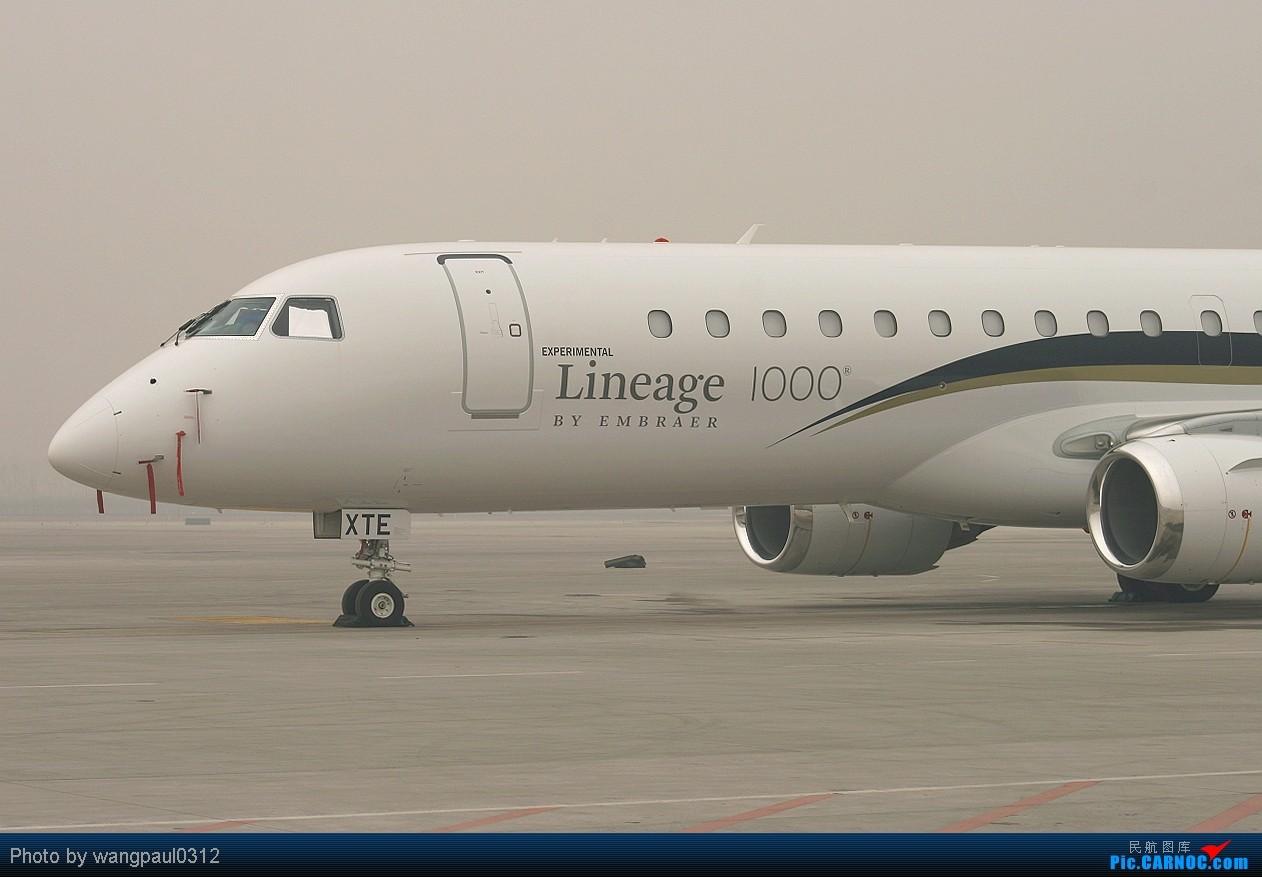 Re:[原创]巴西航空工业公司世袭1000型ERJ-190莅临首都机场(THKS FR 威猛 MSG) EMBRAER ERJ-190BJ LINEAGE 1000 PP-XTE 北京首都国际机场