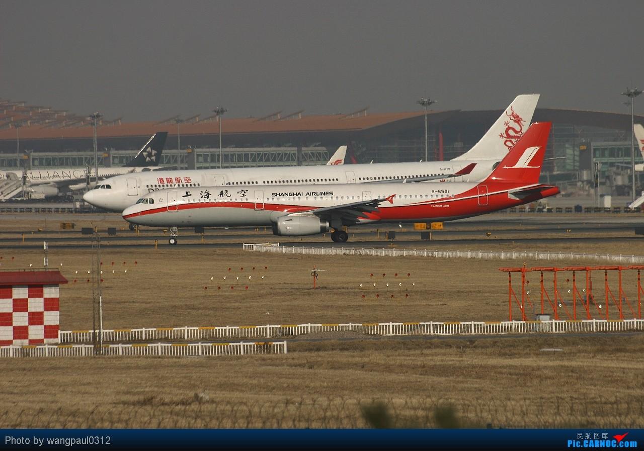 Re:[原创]巴西航空工业公司世袭1000型ERJ-190莅临首都机场(THKS FR 威猛 MSG) AIRBUS A321-200 B-6591 中国北京首都机场