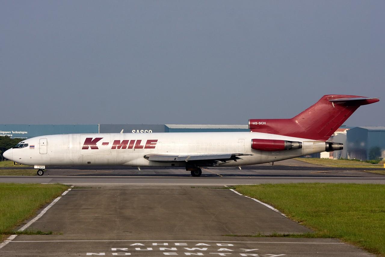 """Re:[原创]打造2009年本人单帖飞机照片数量最高贴并祝""""上海飞友会""""20号浦东机场拍机顺利 BOEING B727F HS-SCH 新加坡樟宜机场"""