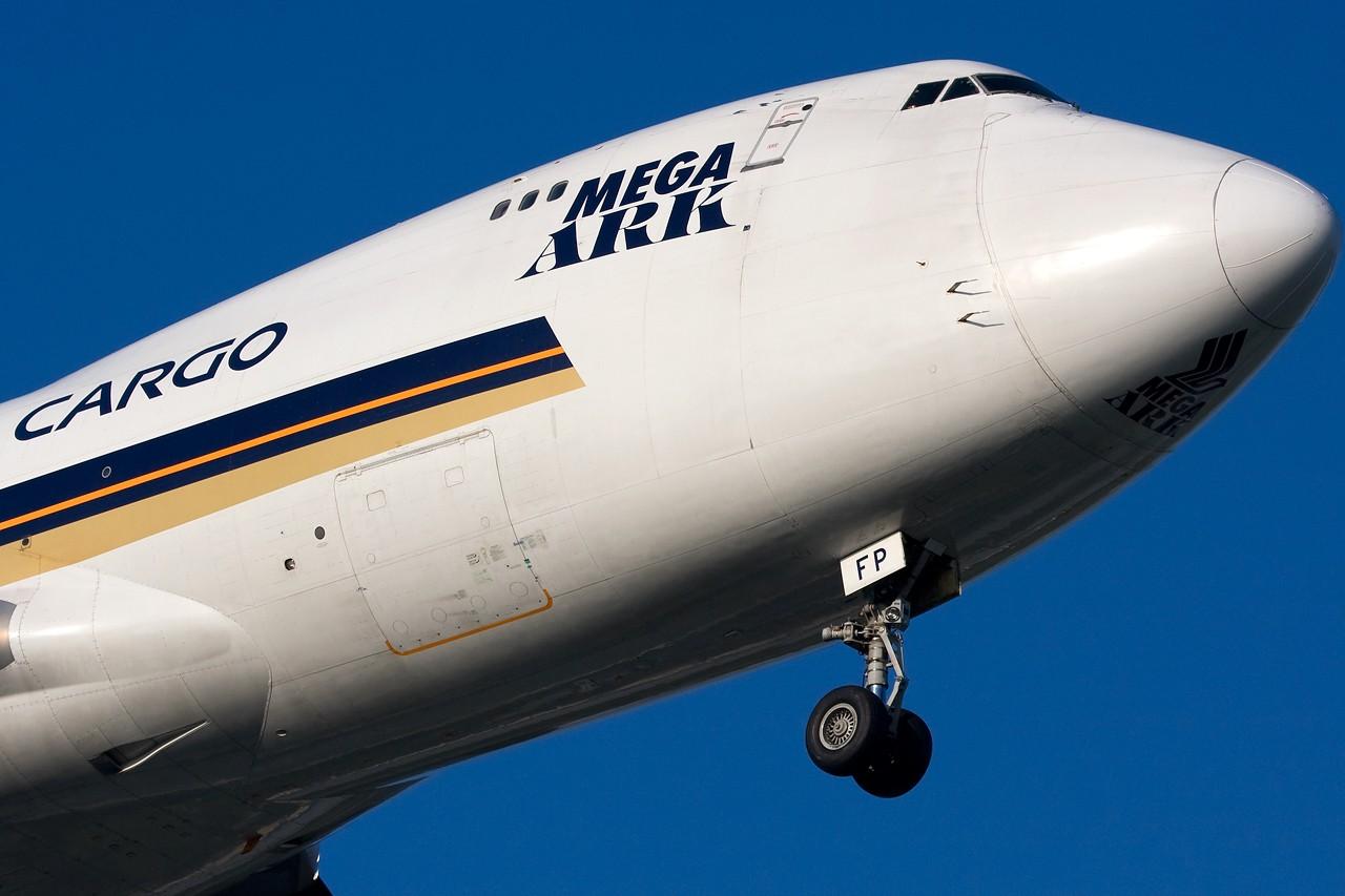 "Re:[原创]打造2009年本人单帖飞机照片数量最高贴并祝""上海飞友会""20号浦东机场拍机顺利 BOEING B747-400F 9V-SFP 新加坡樟宜机场"