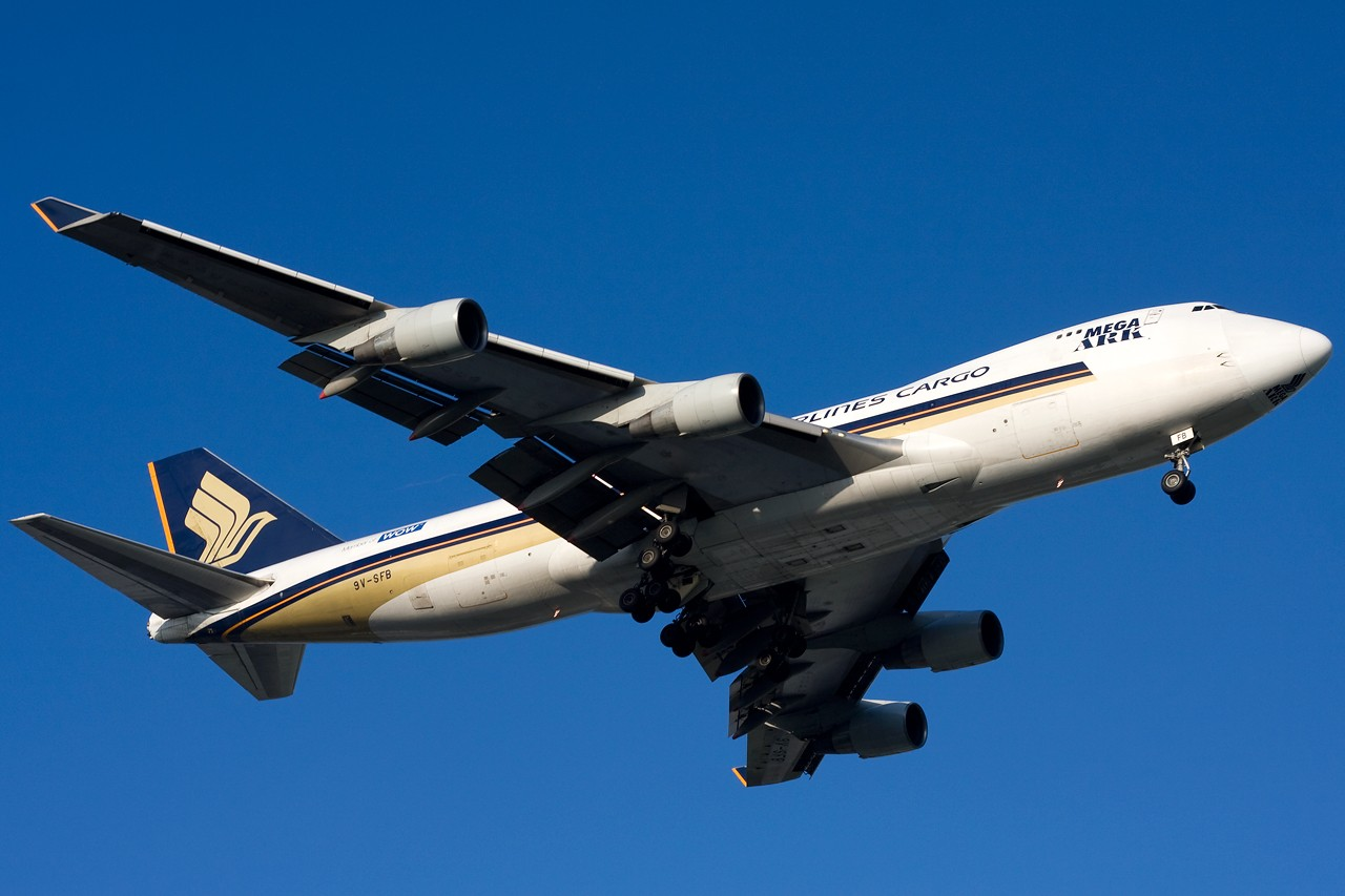 """Re:[原创]打造2009年本人单帖飞机照片数量最高贴并祝""""上海飞友会""""20号浦东机场拍机顺利 BOEING B747-400F 9V-SFB 新加坡樟宜机场"""